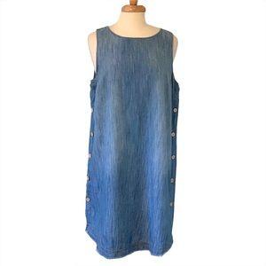 Universal Thread Sleeveless Denim Dress
